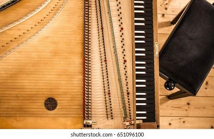 Harpsichord Upper View
