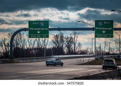 Pennsylvania Turnpike Images, Stock Photos & Vectors