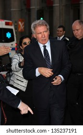 """Harrison Ford at the """"42"""" Los Angeles Premiere, Chinese Theater, Hollywood, CA 04-09-13"""