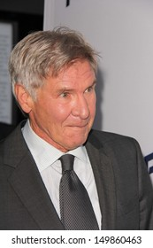 """Harrison Ford at the """"Paranoia"""" US Premiere, Directors Guild of America, Los Angeles, CA 08-08-13"""
