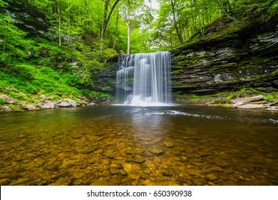 Harrison Wright Falls, at Ricketts Glen State Park, Pennsylvania.
