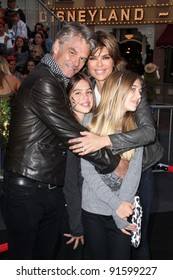 """Harry Hamlin, Lisa Rinna and family at the """"Pirates of the Caribbean: On Stranger Tides"""" World Premiere, Disneyland, Anaheim, CA. 05-07-11"""