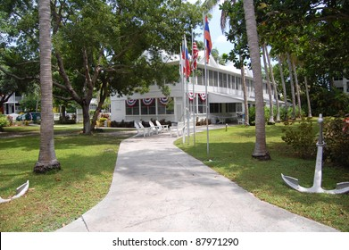 the harry truman little white house in key west, florida