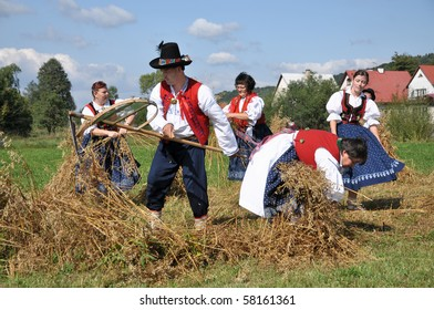 Harvest Home celebration in Wallachia