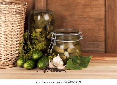 harvesting and canning cucumbers for winter