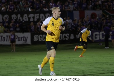 Harvey Moyes defender for Northern Kentucky University Norse at GCU Stadium in Phoenix,Arizona/USA August 30,2019.