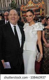 Harvey Weinstein & Georgina Chapman at the 84th Annual Academy Awards at the Hollywood & Highland Theatre, Hollywood. February 26, 2012  Los Angeles, CA Picture: Paul Smith / Featureflash