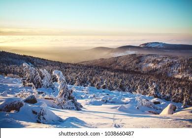 Harz mountains winter