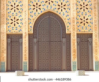 hasan mosque Gate in Casablanca  sc 1 st  Shutterstock & Mosque Door Images Stock Photos u0026 Vectors | Shutterstock