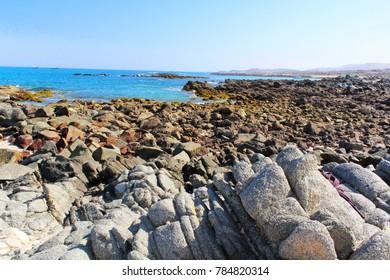 Hasik Stone Beach-Southern Coast-Dhofar Region-Sultanate of Oman.