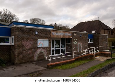 Haslemere, Surrey, England, United Kingdom, 31st of March 2020, Local youth club closed after coronavirus shut down Haslemere
