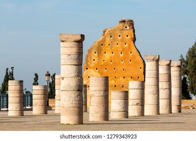 Hassan Tower or Tour Hassan is the minaret of an incomplete mosque in Rabat, Morocco. Remnants of wall at Hassan Tower, Rabat, Morocco
