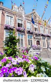 Hasselt City Hall. Hasselt, Flemish Region, Belgium.