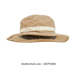 Hat isolated on white background