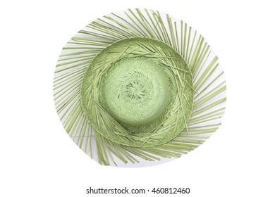 Hat is a hat made of woven fashion grass weaving a beautiful attractive colorful patterns made out for any of the fashion show is put to use in weaving a delicate wisdom.