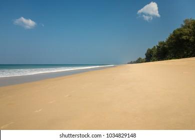Hat Na Tai beach in Phang Nga Province, located between Khao Lak and north of Phuket Island