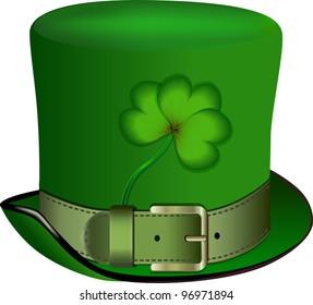 hat, St. Patrick's Day, Rasterized versions