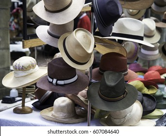 Hat stand, Covent garden, London