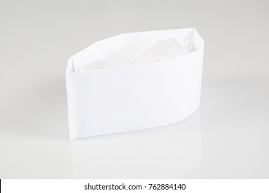 a hat toque of paper butcher