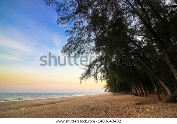 Hat wanakorn National Park Thailand - beach Prachuap Khiri Khan Province