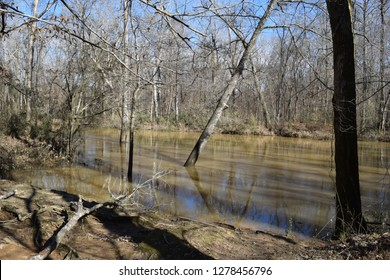 Hatchie River in Davis Bridge Battlefield Tennessee