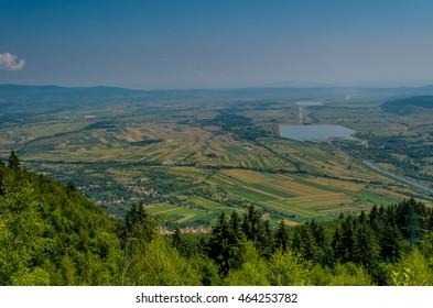 Hateg county from Hunedoara , Transylvania, Romania