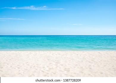 Hatenohama beach on Kumejima island, Okinawa, Japan