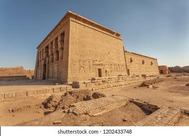 The Hathor temple at Dendera, Egypt