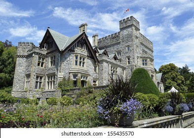 Hatley Park Castle and Gardens, Victoria, BC Canada
