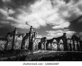 Haunted ancient church
