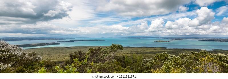 Hauraki Gulf, New Zealand.