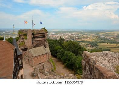 Haut-Barr Castle - Saverne-Alsace - France