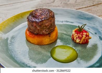 A Haute Cuisine Wagyu Burger