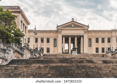 Havana, Cuba - 9 March 2018 : University of Havana