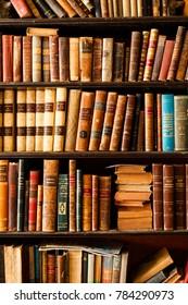 Havana Cuba, December 27, 2017: Old Books in Used Book Store