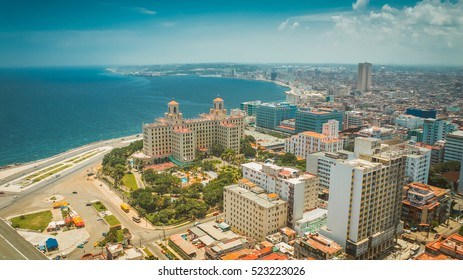 HAVANA, CUBA, July 5, 2012 : The Hotel Nacional de Cuba is considered a symbol of history, culture and Cuban identity