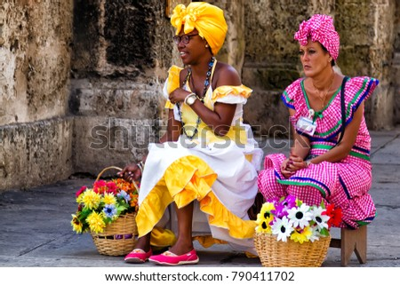 Havana Cuba Nov 17 2017 Cuban Stock Photo Edit Now 790411702
