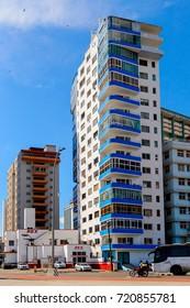 HAVANA, CUBA - SEP 5, 2017: Architecture of Havana, the capital of Cuba