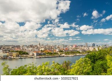 Havana skyline view