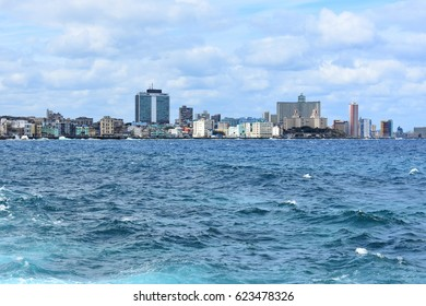Havana view from the sea