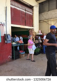 Havana/CUBA 2015 03 03:CUBA / Distribution center.vegetables.  Just before normalizing diplomatic relations with the United States.