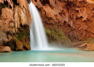 Havasu Falls at Havasu Canyon near Grand Canyon