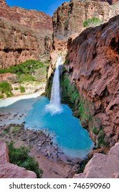 Havasu Falls, Havasupai, Arizona, USA