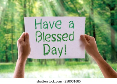28061 Blessed Blessed Day Images Royalty Free Stock Photos On
