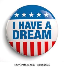 I have a dream patriotic design symbol.