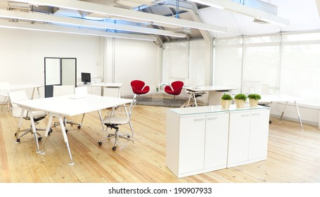 Have no office worker in the modern office.