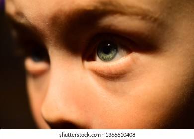 I have very poor eyesight. Little boy with poor eye health. Small boy in contact lens. Childhood health. Eyesight checkup at oculist. Eye test at oculist. I cant imagine world without my contact lens.