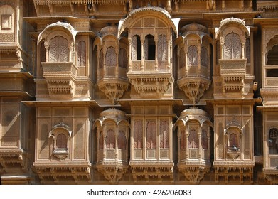 Haveli a traditional townhouse and mansions in Jaisalmer, Rajasthan, India