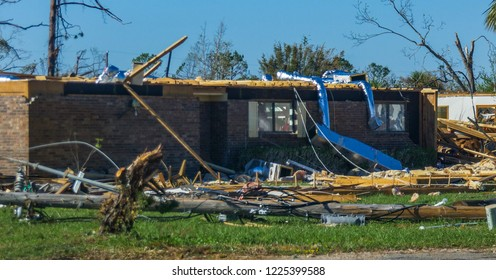 The havoc in Panhandle Florida after they're hit by Hurricane Michael was evident in all places in Panhandle.