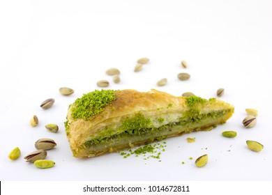 Havuc Dilim Baklava turkish baklava fistikli baklava